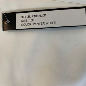 Luxe Pants - Luxe Winter White pants petite